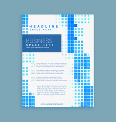 Business brochure leaflet template for your brand vector