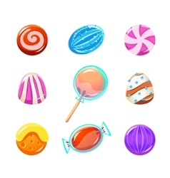 Different Candy Collection vector