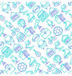 Garage sale seamless pattern vector