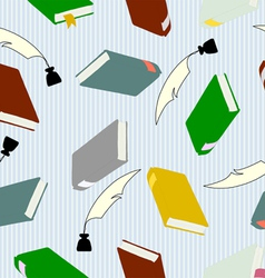 hardcover books vector image vector image