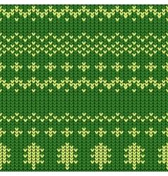Knitting Pattern vector