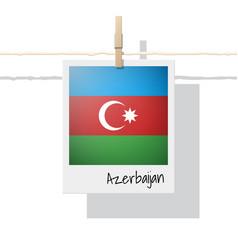 Photo of azerbaijan flag vector