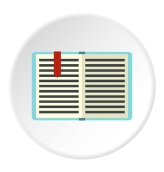 Tutorial icon flat style vector