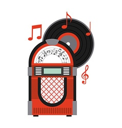 music old vector image