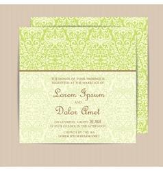Card green vector