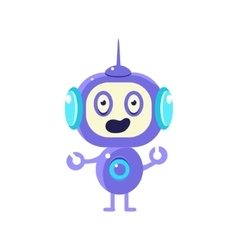 Confused Little Robot vector
