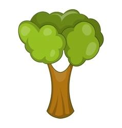Fruit tree icon cartoon style vector
