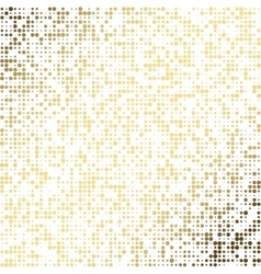 Golden dot abstract background EPS 10 vector image vector image