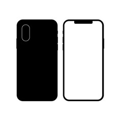high detailed realistic smartphone vector image