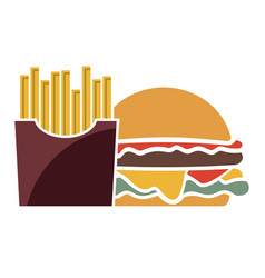meal vector image