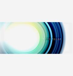 rainbow fluid abstract swirl shape twisted liquid vector image