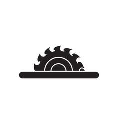 sawmill icon design template isolated vector image