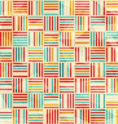 vintage wattle seamless pattern vector image