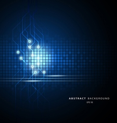 abstract technology circuit vector image vector image