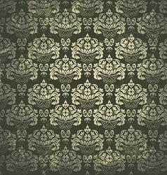 Damask Vintage pattern vector image vector image