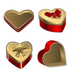 bow love vector image