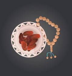 Ramadan kareem holy month religion concept islamic vector