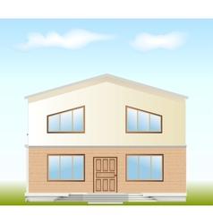 Real Estate For Sale facade vector