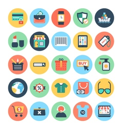 Shopping and E Commerce Icons 1 vector