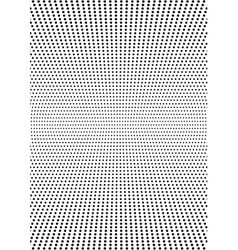 Symmetrical halftone dots background rectangular vector image