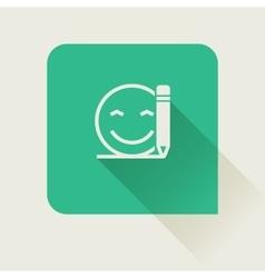Write feedback customer vector image vector image