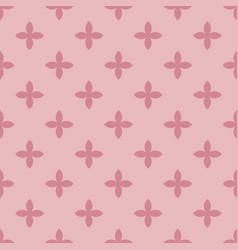 Abstract seamless pattern mosaic of pink vector