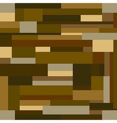 Brown Wood Block Background Seamless Pattern vector image