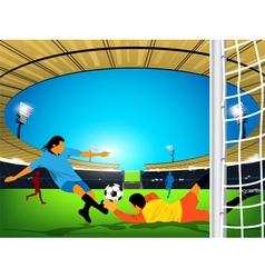 stadium Soccer game vector image