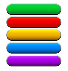 banners bars buttons vector image