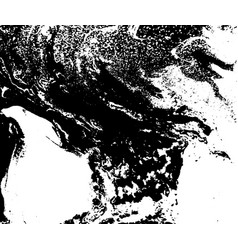 Black and white liquid texture watercolor hand vector