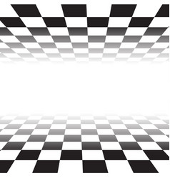 black white random square mosaic tiles background vector image