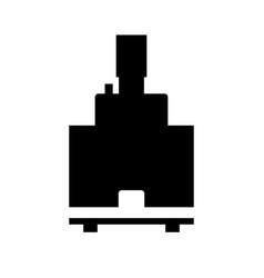 ceramic mixer cartridge vector image