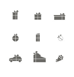 different gifts for any holiday vector image