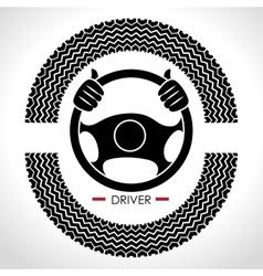 driver car design vector image