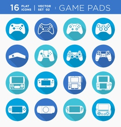 Game controllers vector