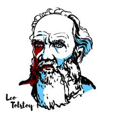 Leo tolstoy vector