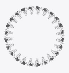 rustic emblem abstract design vector image