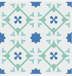 tile pastel decorative floor tiles pattern vector image