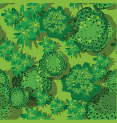 top view seamless forest vector image