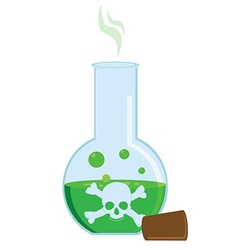 Toxic potion vector