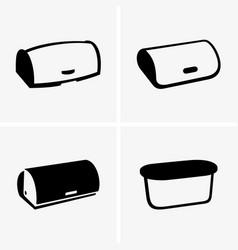 breadbaskets vector image