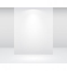 wall and lights vector image vector image