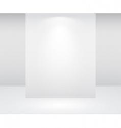 wall and lights vector image