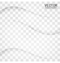 Transparent background curve vector image