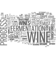 a taste of wine text word cloud concept vector image