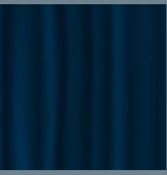 blue curtain background luxury blue dark color vector image