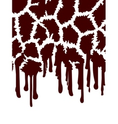Giraffe Abstract Background vector image