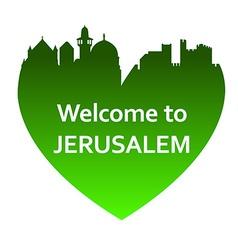 JerusalemW vector