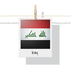 Photo of iraq flag vector