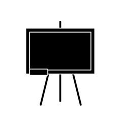 School blackboard isolated vector